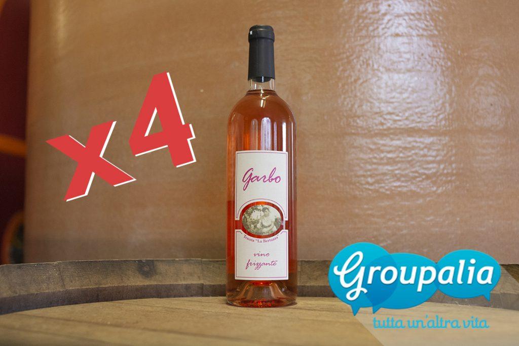 vino rosato Garbo